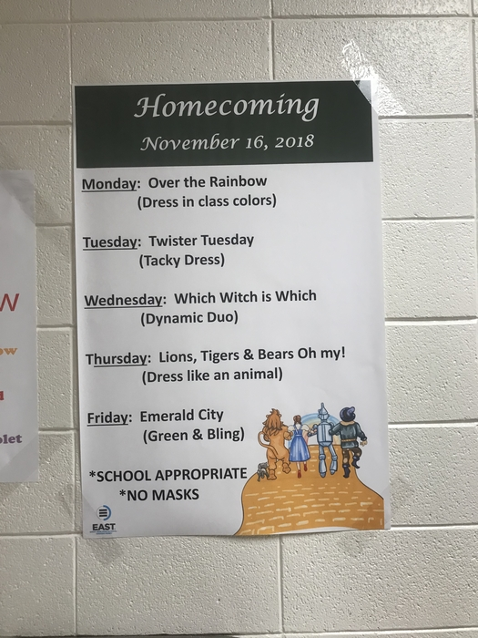 HOCO Dress-Up Days 2018
