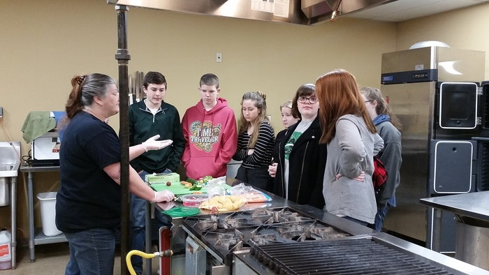 8th grade watch culinary demonstration