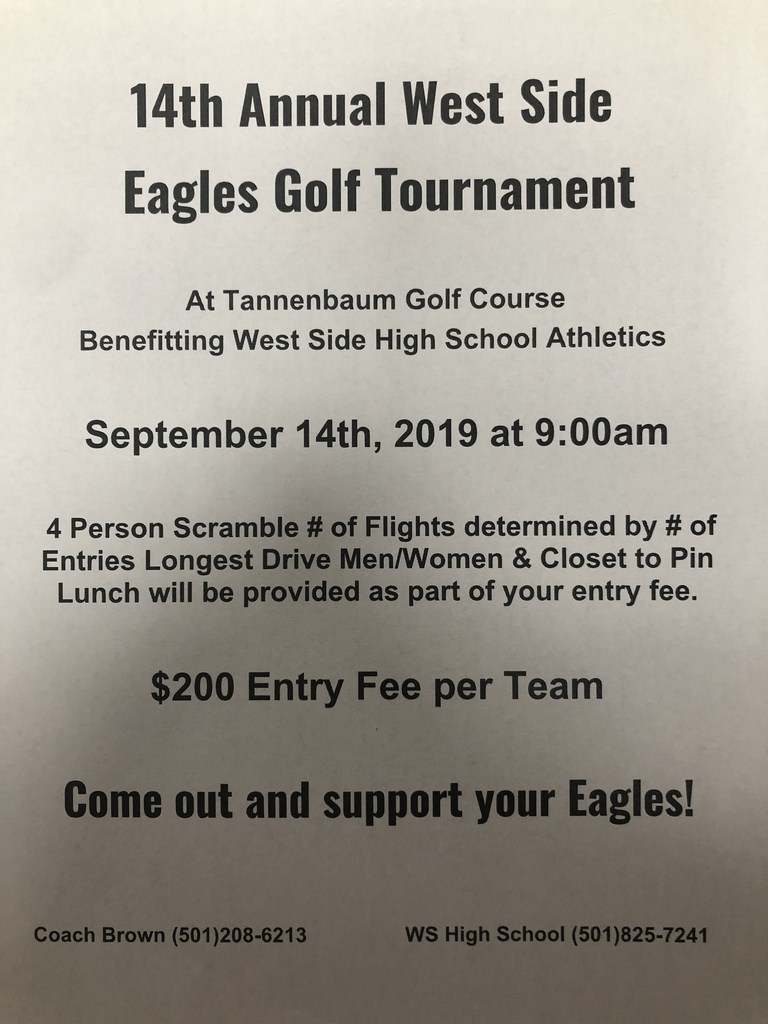 14th Annual West Side Eagles Golf Tournament
