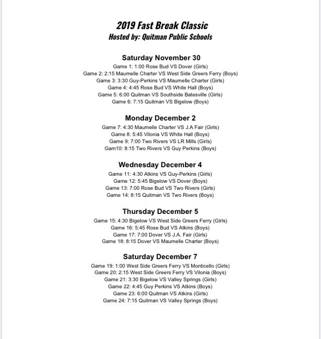 Quitman Fast Break Classic