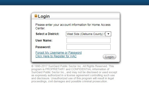 ​  Home Access Center account information mailed to HS guardians