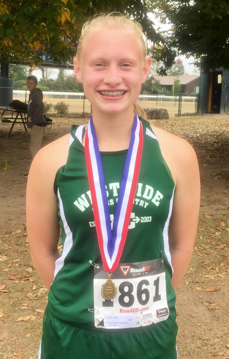 Haley Gentry Earns Way into All Star XC Meet