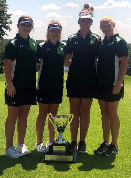 Golf Team Takes Cougar Invitational Title
